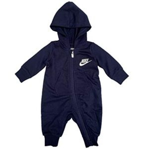 Nike Infant`s Zip Front Long Sleeve Hooded